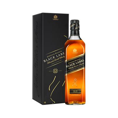尊尼獲加(Johnnie Walker)黑牌 調配型蘇格蘭威士忌 700ml 單支