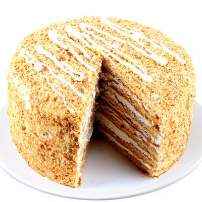 斯戈夫SAMKOND俄羅斯進口提拉米蘇蛋糕500g/盒酸奶味