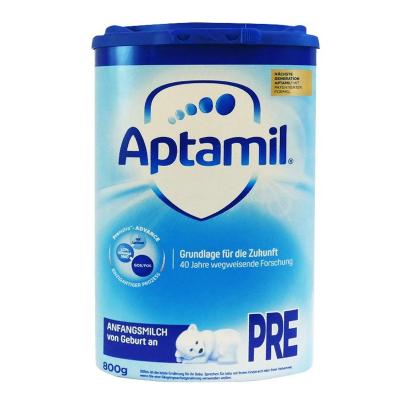 aptamil德國愛他美嬰幼兒配方奶粉pre段0-6個月以上800g德國原裝進