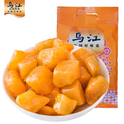 榨菜烏江涪陵榨菜小脆口脆口蘿卜22g*15袋下飯菜咸菜小菜