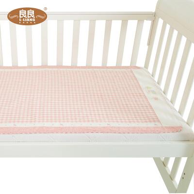 良良 婴儿凉席宝宝苎麻透气凉席儿童大号婴儿床席子 凉而不冰