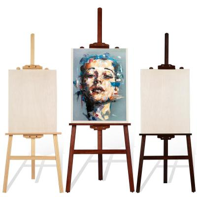 蘇寧放心購多功能畫板畫架套裝折疊4K繪畫素描寫生4開實木木質初學者兒童美術畫具成人支架式木制油畫架子美術生專用A-STY