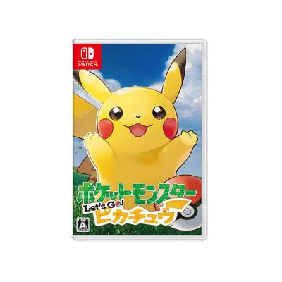【精彩剧情】任天堂(Nitendo)Switch NS 游戏卡带 精灵宝可梦Let s Go! 皮卡丘游戏软件 中文