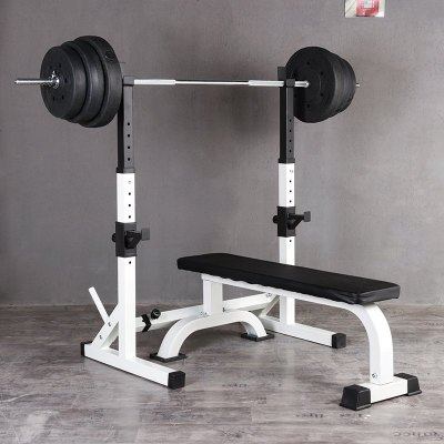 分體深蹲架 臥推架 杠鈴架 舉重架深蹲臥推架家用健身器材 定制