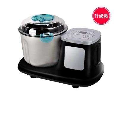 和面機家用小型全自動多功能揉面機發酵攪拌發面活面廚師機 黑色-升級款-熱賣