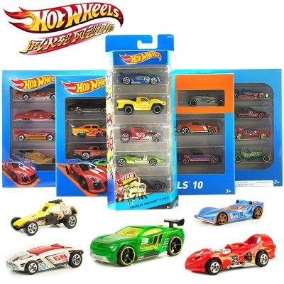 Hotwheels風火輪火辣交通組合五輛裝 兒童玩具 款式隨機發貨 1806