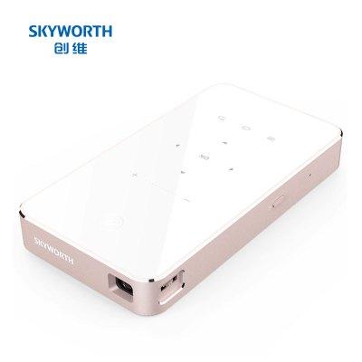 創維(Skyworth)P1pro 投影機 投影儀 家用(創維小湃/手機/微型/投影 智能便攜 梯形校正 雙頻wifi)