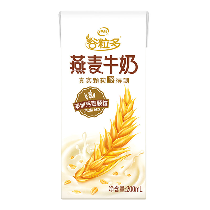 伊利谷粒多燕麦牛奶200ml*12