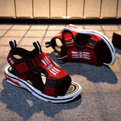 男童凉鞋2018新款男孩韩版学生夏季女童防滑沙滩鞋中大童儿童凉鞋