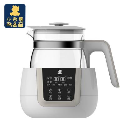 小白熊恒溫調奶器暖奶器溫奶器多功能沖泡奶粉機800ml恒溫水壺0856