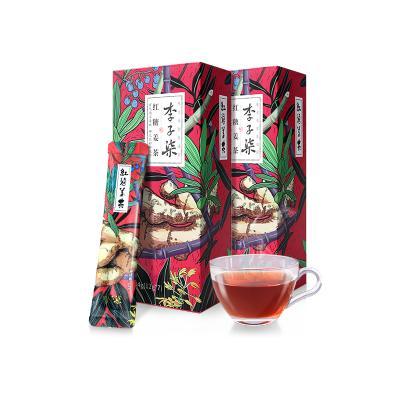 李子柒 红糖姜茶女生大姨妈姜红糖水暖身姜糖茶姜枣茶速溶12g*7条*2盒
