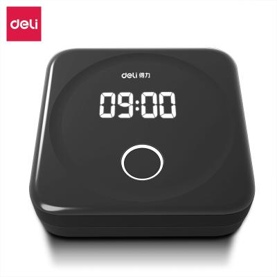 得力(deli)D1智能云考勤機 指紋識別打卡機 只能手機定位考勤wifi聯網打卡機 APP遠程管理