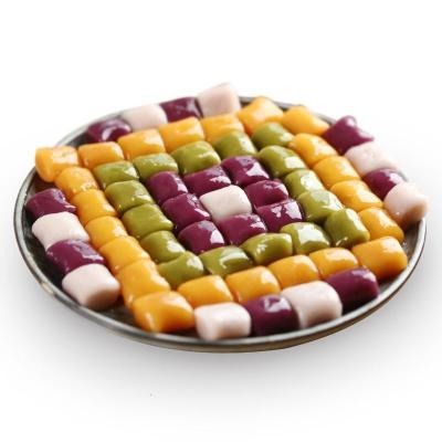 四色大芋圓鮮芋組合原料奶茶仙芋圓甜品混合裝湯圓 紅薯紫薯芋頭抹茶4色混合裝