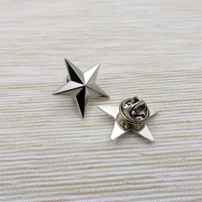 美國準將金屬星國軍肩章領章星天下博愛五角星帽徽徽章胸針