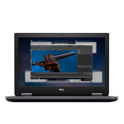 戴爾(DELL) 7740移動圖形工作站筆記本電腦 六核I7-9750H/16G/256G+2T/WX3200 4G