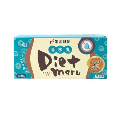 【直營】日本榮進制藥Diet maru消水丸酵素 EX版薏仁加量 10g*10包裝 夜間酵素果凍果蔬睡眠小V臉