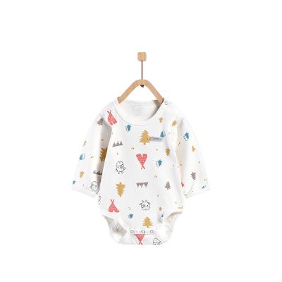 童泰TONGTAI嬰幼兒內衣1-24個月寶寶純棉肩開包屁衣嬰幼兒通用90cm