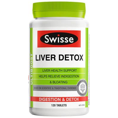 2件裝|Swisse 奶薊草肝臟排毒片(護肝片)+Swisse 清肺片 90片/瓶