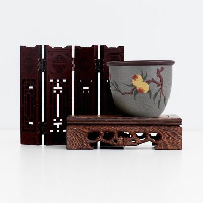 《福寿》宜兴紫砂品茗杯 单杯