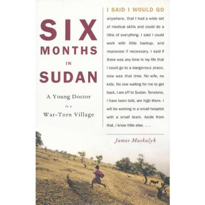 SIX MONTHS IN SUDAN(ISBN=9780385526517) 英文原版
