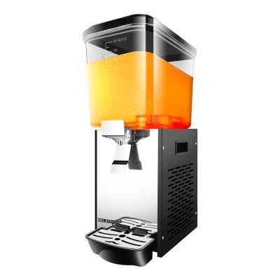 美莱特LYJ18-1单缸饮料机商用全自动自助餐搅拌果汁机商用冷饮机冷热型