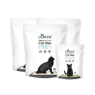 LORDE豆腐猫砂 2.6kg*3+猫砂伴侣700g 共20L大包装