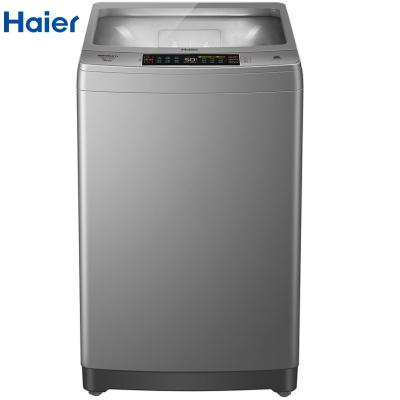 【99新】Haier/海尔XQS100-BZ856全自动直驱变频双动力波轮洗衣机10KG超大容量