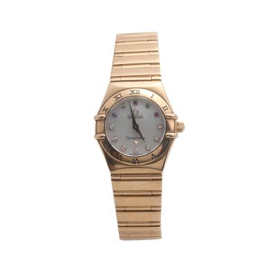 【二手95新】歐米茄OMEGA特別系列111.50.23.60.55.002女表石英奢侈品鐘手表腕表