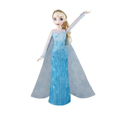 孩之宝Hasbro 冰雪奇缘系列 3岁以上女孩儿童动漫模型玩具 人偶玩具 经典系列艾莎E0315