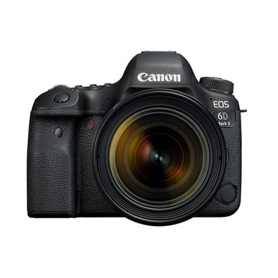佳能(Canon)EOS 6D2(24-70mm f/4L IS USM)數碼專業單反單鏡頭套裝全畫幅2620萬有效像素