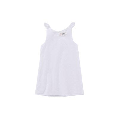Жижиг улаан буурцагны хүүхдийн хувцас худалдааны төв нь ижил төстэй охидын зуны даавуун нөмрөг биелэгдэнэ юбка нь том хүүхдийн банзал GXQ640KB3 140cm цагаан