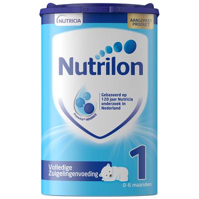 【乳糖配方】荷蘭牛欄 諾優能荷蘭版 Nutrilon海外 嬰幼兒配方奶粉 易樂罐 1段(0-6個月)800g/罐