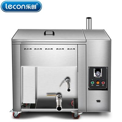 lecon乐创 电热台式16升油水分离油炸锅商用燃气煤气单缸炸炉大容量温控油条机电炸锅