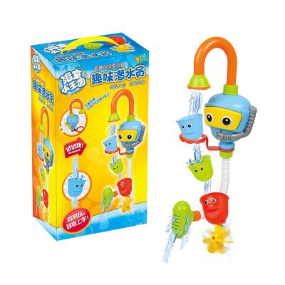 优赫抖音同款宝宝洗澡玩具玩水转转乐花洒儿童婴儿浴室戏水玩具1-3岁女孩男孩玩具(潜水员)