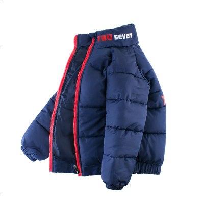 27kids 韩版童装秋冬男童棉衣儿童外套休闲加厚保暖大童衣服