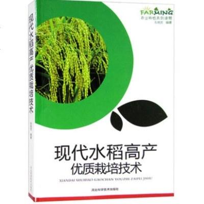 正版包邮 现代水稻栽培技术 农业种植系列读物书籍图文版科学致富种植养殖农村安全生产农业技术提升训练