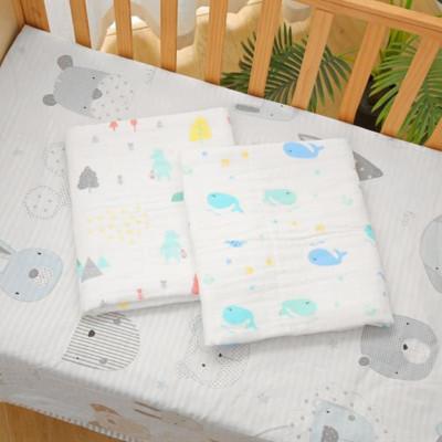 安笛貝樂嬰幼兒六層泡泡紗孕嬰童浴巾大尺寸