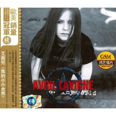 正版專輯 歐美流行音樂碟片光盤 艾薇兒:我的小小世界(CD+DVD)