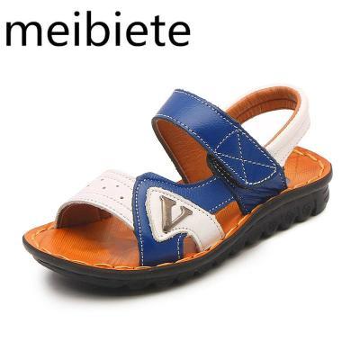 20新款男童涼鞋兒童防滑軟底小童中童夏季沙灘鞋男孩韓版童鞋