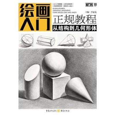 正版书籍 绘画入门正规教程——从结构到几何形体 9787229131425 重庆出版