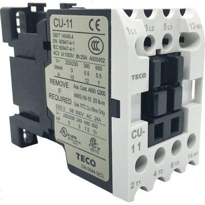 定做 TECO東元TAIAN交流接觸器CN-6CN6KCU-11CU-16CU-18CU- 380VAC CU-1