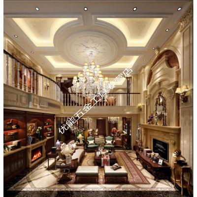 家裝室內設計裝修整裝設計師輕奢北歐別墅施工圖效果圖純設計服務 1㎡