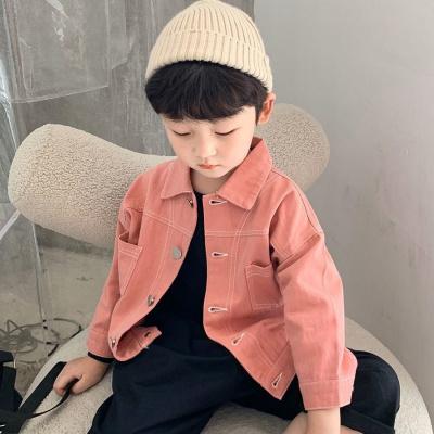 佐歐雅男童牛仔外套2020春秋新款童裝兒童上衣韓版時髦洋氣中小寶寶夾克