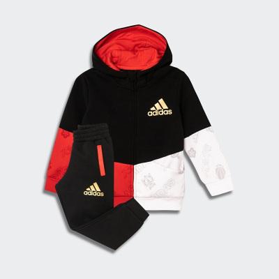 阿迪達斯 adidas 2020春 小童裝訓練運動套裝FU3578