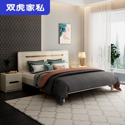 雙虎家私 1.8m床主臥雙人1.5米經濟型簡約現代次臥床QX1