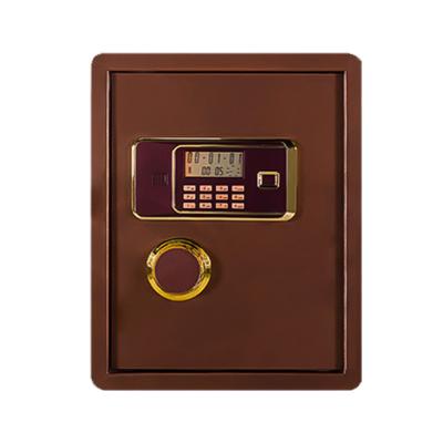 鸿业盛大(HONG YE SHENG DA)MS-BXG001喷粉智能锁具加粗锁栓保险柜(360L*330W*450H)