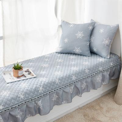 北极绒家纺 简约现代卧室阳台垫榻榻米坐垫 欧式飘窗垫子窗台垫