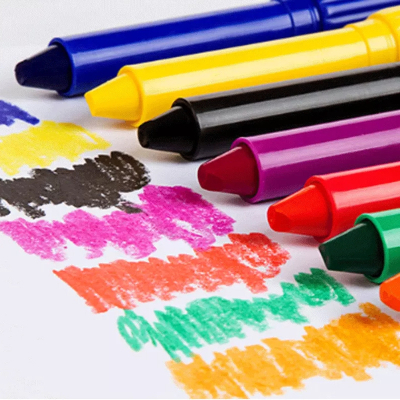 18色彩绘色涂鸦画笔 儿童蜡笔彩笔炫彩棒油画棒