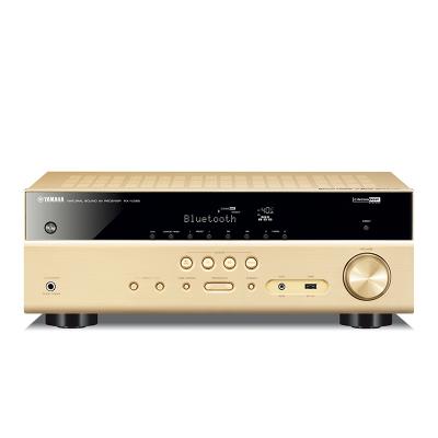 雅馬哈(YAMAHA) RX-V385 家庭影院影音功放4K藍牙家用音響設備 AV功放5.1聲道多聲道功放(金色)