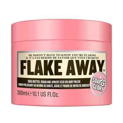 Soap&Glory光亮蜜糖身体磨砂膏 300ml 海盐去角质 净透洁肤 温柔呵护